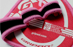 Pink Gripad Workout Grips for Women